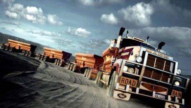 """Photo of A világ leghosszabb kamion szerelvényei, a """"közúti vonatok"""""""