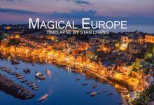 Photo of Barangolás Európában egy csodálatos time-lapse videón keresztül