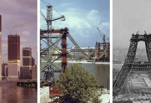Photo of Világhírű épületek és látványosságok az építésük közben