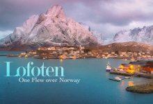 Photo of Gyönyörű légifelvétel a norvég Lofoten-szigetcsoportról