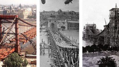 Photo of Így épültek Budapest hídjai