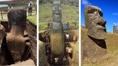 Photo of A Húsvét-sziget legendás szobrai és ami alattuk rejtőzik