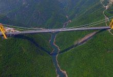 Photo of Látványos légifelvétel a világ legmagasabb hídjáról