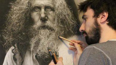 Photo of Több száz órát szentel alkotásai elkészítésére a tehetséges hiperrealista művész
