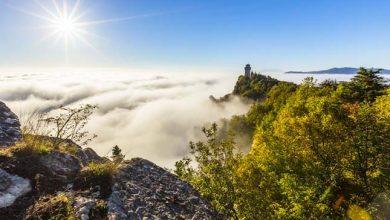 Photo of A ködben úszó San Marino – lenyűgöző time-lapse videó