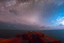 Photo of 30 nap a tengeren – lélegzetelállító time-lapse videót készítettek egy teherhajó fedélzetéről