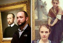 Photo of Múzeumlátogatók, akik saját hasonmásukat fedezték fel régi festményeken