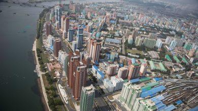 Photo of Az első 360 fokos légifelvétel Phenjanról, Észak-Korea fővárosáról
