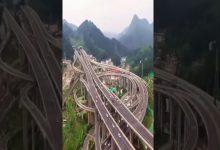 Photo of Elképesztő videón örökítették meg Kína legbonyolultabb közlekedési csomópontját