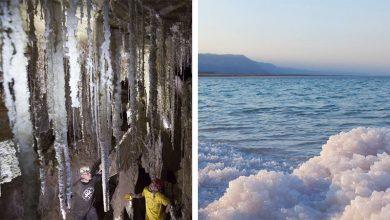Photo of A világ leghosszabb sóbarlangja rejtőzik a Holt-tenger mellett