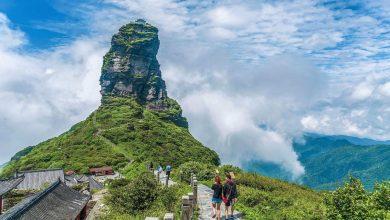 Photo of Lenyűgöző templomegyüttes a felhők fölé magasodó Fanjing hegy tetején – videó