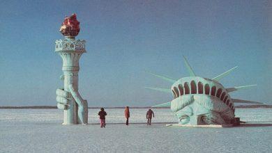 Photo of Szabadság-szobor a wisconsini Mendota tavon