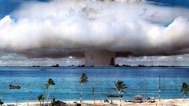 Photo of Feltérképezték az első víz alatti atomrobbantás kráterét a Bikini-atollnál