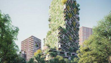 Photo of Függőleges erdővel és növényekkel beültetett háztetőkkel teszik zöldebbé Utrechtet