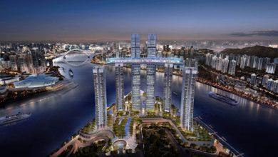 Photo of Felhőkarcolók tetején húzódó üveghíd Kína legújabb építészeti látványossága