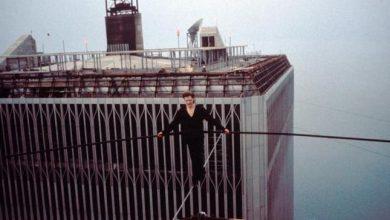 Photo of Philippe Petit – a kötéltáncos, aki átsétált a 400 méter magas ikertornyok között