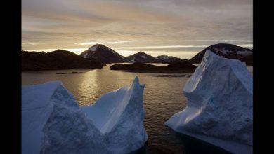 Photo of Rekordgyorsasággal és rekordmennyiségben olvad Grönland jégtakarója