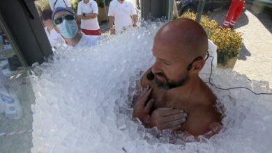 Photo of Új világrekord: 2,5 óra 200 kiló jég alatt