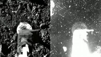 Photo of Videofelvételen a NASA történetének első mintavétele egy kisbolygóról