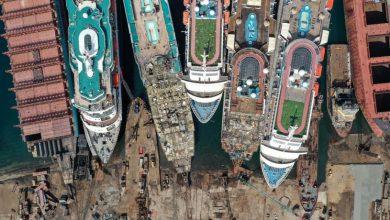 Photo of Zsúfolásig telt hajótemetőt filmeztek drónról Törökországban