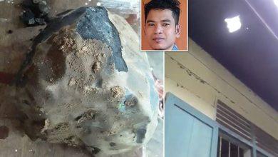Photo of Becsapva érzi magát egy indonéz férfi, akinek a házára zuhant egy meteorit