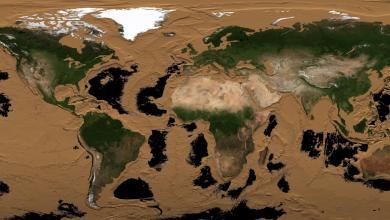 Photo of Így nézne ki a Föld óceánok nélkül