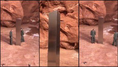 Photo of Egy rejtélyes monolit fémobjektumra bukkantak az utahi sivatag kellős közepén – videó