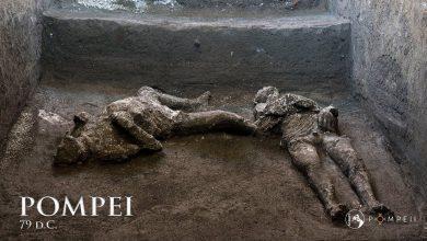 Photo of Úr és szolgája testét rekonstruálták Pompejiben – videó