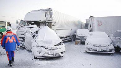 Photo of 130 autó ütközött össze egy hóvihar miatt Japán északi részén – Videó