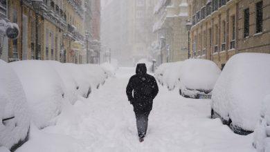 Photo of Megbénult Spanyolország a rendkívüli hóhelyzet miatt