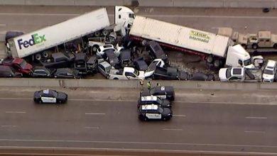 Photo of Több mint 130 jármű karambolozott Texasban – videó