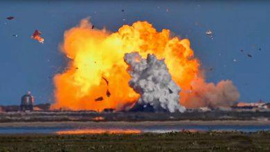 Photo of Földet éréskor felrobbant a SpaceX Csillaghajója