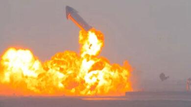 Photo of Landolás után ismét felrobbant a SpaceX kísérleti Mars-rakétája – videó