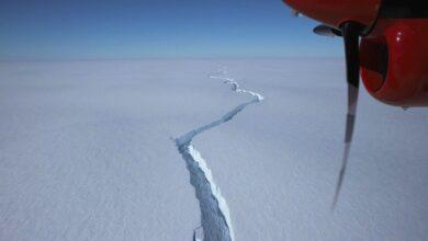Photo of Hatalmas jéghegy szakadt le az Antarktiszról – videó