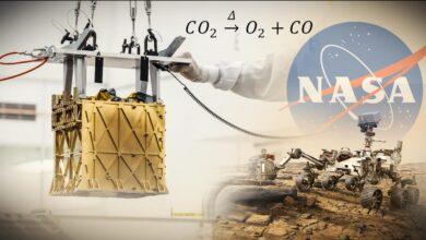 Photo of Belélegezhető oxigént vont ki a Mars ritka légköréből a NASA