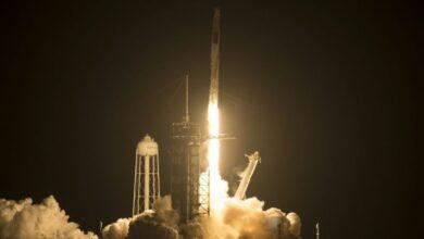 Photo of Négy űrhajóssal kilőtték a SpaceX űrhajóját – videó