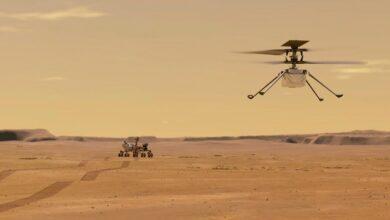 Photo of Történelmet írt a NASA: Sikeres volt a marshelikopter első repülése