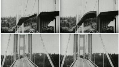 Photo of A Tacoma-híd összeomlása 1940-ben – Videó