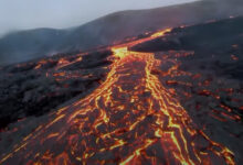 Photo of Több száz méteres új hasadék nyílt az izlandi vulkán közelében