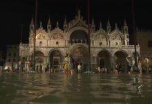 Photo of Szokatlan módon nyáron árasztotta el a víz a velencei Szent Márk teret