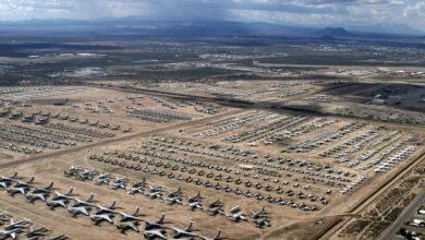 Photo of A világ legnagyobb repülőgép-temetője