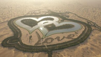 Photo of Csodás tavak a dubaji sivatagban