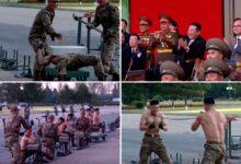 Photo of Bizarr propagandavideót készített Észak-Korea a katonáik elképesztő erejéről